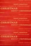 Vrolijke Kerstmisachtergrond royalty-vrije stock afbeelding