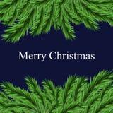 Vrolijke Kerstmisachtergrond Royalty-vrije Stock Fotografie