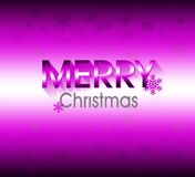 Vrolijke Kerstmisachtergrond Royalty-vrije Stock Foto