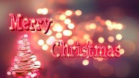 Vrolijke Kerstmisachtergrond Royalty-vrije Stock Foto's