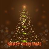 Vrolijke Kerstmisachtergrond stock foto