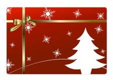 Vrolijke Kerstmiskaart   Royalty-vrije Stock Afbeelding