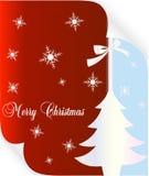 Vrolijke Kerstmiskaart Royalty-vrije Stock Afbeeldingen