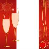 Vrolijke Kerstmiskaart royalty-vrije illustratie