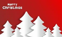Vrolijke Kerstmiskaart Stock Afbeelding
