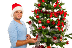 Vrolijke Kerstmismens royalty-vrije stock foto's