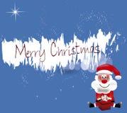 Vrolijke Kerstmissanta Royalty-vrije Stock Afbeeldingen