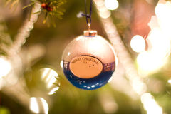 Vrolijke Kerstmissnuisterij Stock Foto's