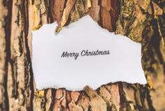 Vrolijke Kerstmistekst Royalty-vrije Stock Fotografie