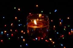 Vrolijke lichten van viering Royalty-vrije Stock Foto