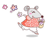 Vrolijke muis Royalty-vrije Stock Foto
