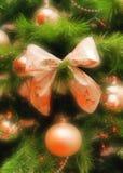 Vrolijke prentbriefkaar Christmasl royalty-vrije stock afbeelding