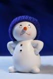 Vrolijke Sneeuwman Stock Foto's