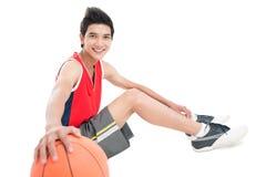 Vrolijke sportmannen Stock Afbeelding