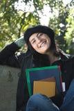 Vrolijke Student Stock Foto's