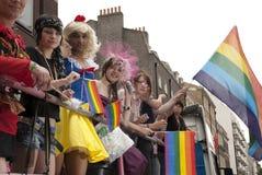 Vrolijke Trots in Londen Stock Foto's
