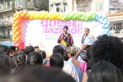 Vrolijke Trotsparade in Mumbai Stock Foto's