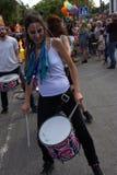 Vrolijke Trotsviering in Torremolinos, MÃ ¡ laga 25 Stock Foto's
