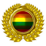 Vrolijke trotsvlag vector illustratie
