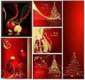 Vrolijke van Kerstmis inzamelingen als achtergrond vector illustratie