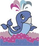 Vrolijke walvis Stock Afbeeldingen