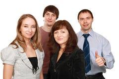 Vrolijke werknemers Stock Fotografie