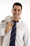 Vrolijke zakenman Stock Afbeeldingen