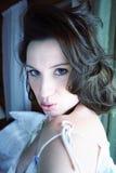Vrouw 2 van Flirty stock afbeeldingen