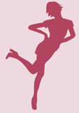 Vrouw stock illustratie