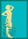 Vrouw royalty-vrije illustratie