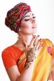Vrouw Arabier Royalty-vrije Stock Afbeeldingen