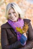 Vrouw bij het Park Royalty-vrije Stock Fotografie