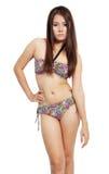 Vrouw in bikini Stock Foto
