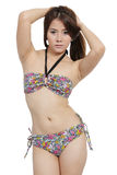 Vrouw in bikini Royalty-vrije Stock Fotografie