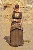 Vrouw buiten in Nepal Royalty-vrije Stock Afbeeldingen