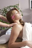 Vrouw in day spa Royalty-vrije Stock Afbeelding