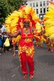 Vrouw in de zomerCarnaval parade 2012 Royalty-vrije Stock Fotografie