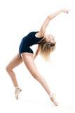 Vrouw die een dans uitvoeren Stock Afbeeldingen