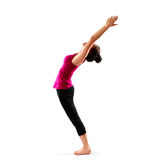 Vrouw die Yoga doet Stock Afbeelding