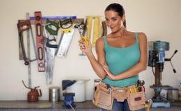 Vrouw DIY Royalty-vrije Stock Foto's
