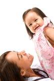 Vrouw en Baby Stock Foto