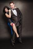 Vrouw en man verhouding Royalty-vrije Stock Foto