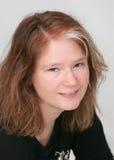 Vrouw headshot Stock Foto
