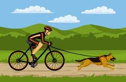 Afbeeldingsresultaat voor fietsen met duitse herder