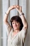 Vrouw het dansen royalty-vrije stock foto