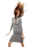 Vrouw het dansen Stock Afbeelding