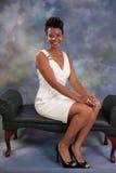 Vrouw het glimlachen Royalty-vrije Stock Afbeelding