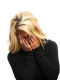 Vrouw het schreeuwen Stock Fotografie