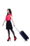 Vrouw het voorbereidingen treffen Royalty-vrije Stock Afbeelding