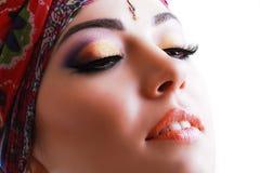 Vrouw Indiër royalty-vrije stock afbeeldingen